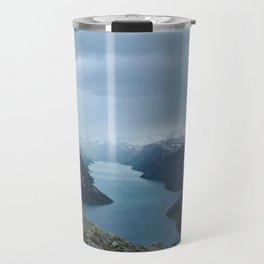 Down the Fjord Travel Mug