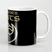 new order Mugs featuring New Order Saints by Ant Atomic
