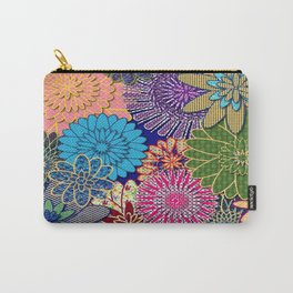 Flower Garden Too Carry-All Pouch