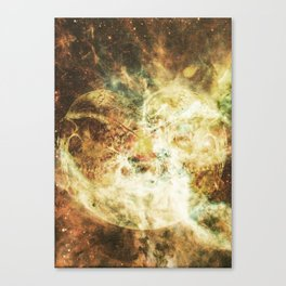 Midnight Juggernauts Poster Illustration Canvas Print