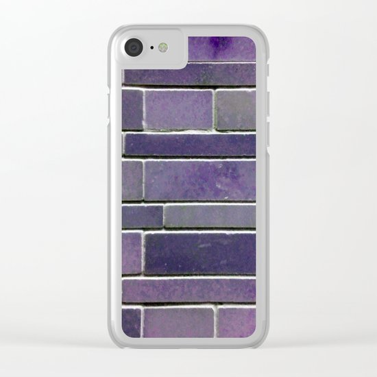 Stonewall Amethyst Clear iPhone Case