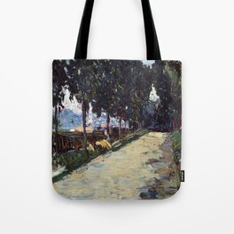 Park in St. Cloud, 1605, Old Masters Collection, Wassily Kandinsky Tote Bag