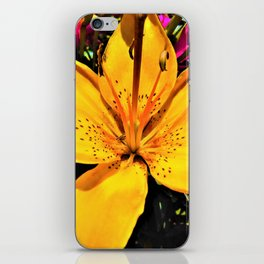 Tranquility in Yellow iPhone Skin