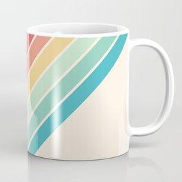 Classic 70s Style Retro Stripes - Penida Coffee Mug