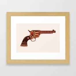 Pistola Framed Art Print