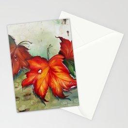 Autumn Leaves (Platanus) Stationery Cards
