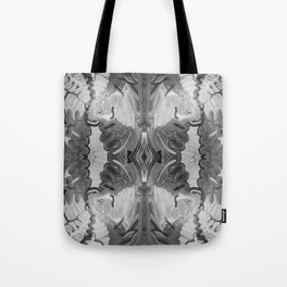 B&W Open Your Eyes Tote Bag