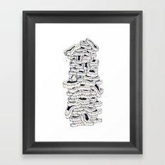 mass meat Framed Art Print