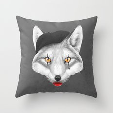 the fox doesn't say Throw Pillow