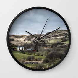 Welsh Farm Wall Clock
