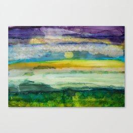 For Me, This is Heaven Canvas Print