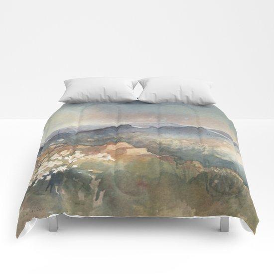 Desert Poppy Comforters