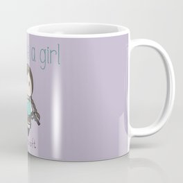 Fight Like a Girl - Lara Croft ~ Tomb Raider Coffee Mug