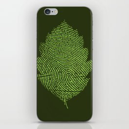 Leafprint iPhone Skin