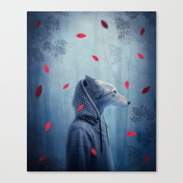he wolf Canvas Print