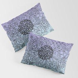 Flower Zen: Purple Fade Pillow Sham