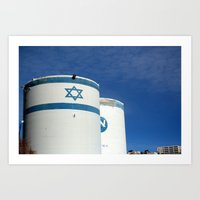 israel Art Prints featuring Hebron, Israel by Jamie Straz