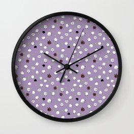Dandy Ditsy Sheep Wall Clock