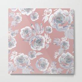 Sugar Roses Metal Print