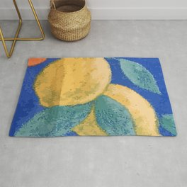 Lemons and cherries Rug