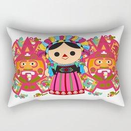 Maria 3 (Mexican Doll) Rectangular Pillow