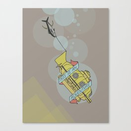 This Is An Adventure   The Life Aquatic with Steve Zissou Canvas Print