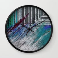 data Wall Clocks featuring Data by MonsterBrown