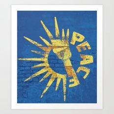 Moar Peace Art Print