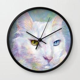 Bunny the cat. Wall Clock