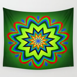 Symmetric composition 33 Wall Tapestry