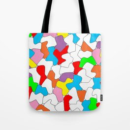 Multi-colored Shapes  Tote Bag