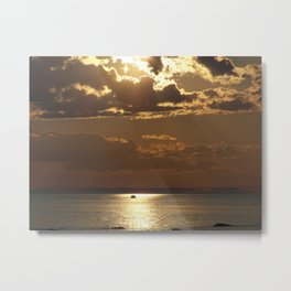 Awesome Sea Scene Metal Print