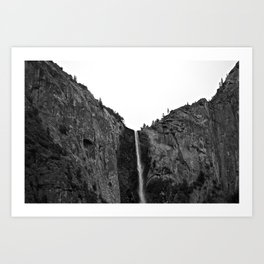 Yosemite Waterfall Art Print