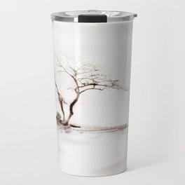 Scots Pine Sepia Travel Mug