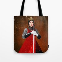 queen Tote Bags featuring Queen by Ed Pires