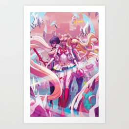 Three's A Charm Art Print