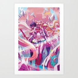 Three's A Charm Art Print