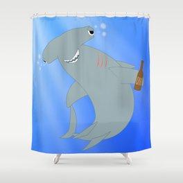 Hammered Hammerhead Shower Curtain