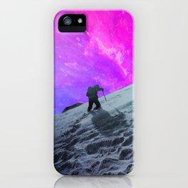 Lone Hiker iPhone Case