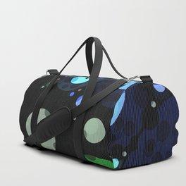 Modern Dot Abstract Design Duffle Bag