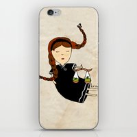 libra iPhone & iPod Skins featuring Libra by Kristina Sabaite