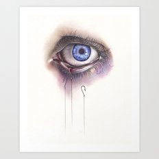You Caught My Eye Art Print