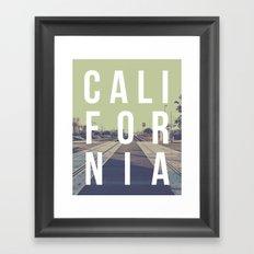 California on the Tracks Again Framed Art Print