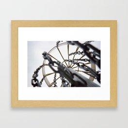 To the Sky Framed Art Print