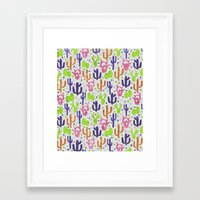 succulents Framed Art Prints featuring Succulents by 83 Oranges™