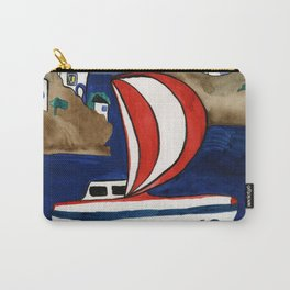 Journey to Greece Carry-All Pouch