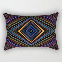 Wild Wavy Diamonds 14 Rectangular Pillow