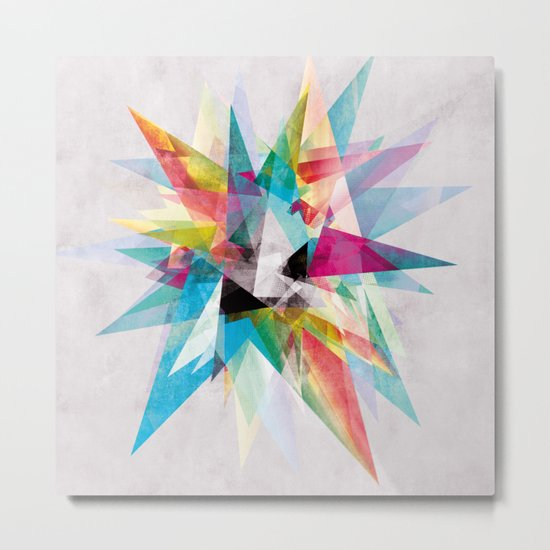 Colorful 2 XZ Metal Print