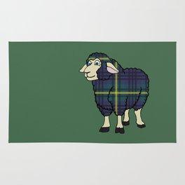 Modern Johnstone Sheep Rug