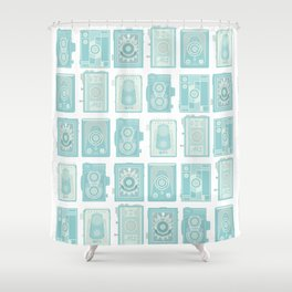 TLRs Shower Curtain